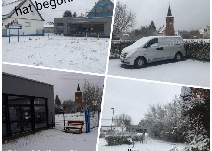Autohaus Kühne im Schnee